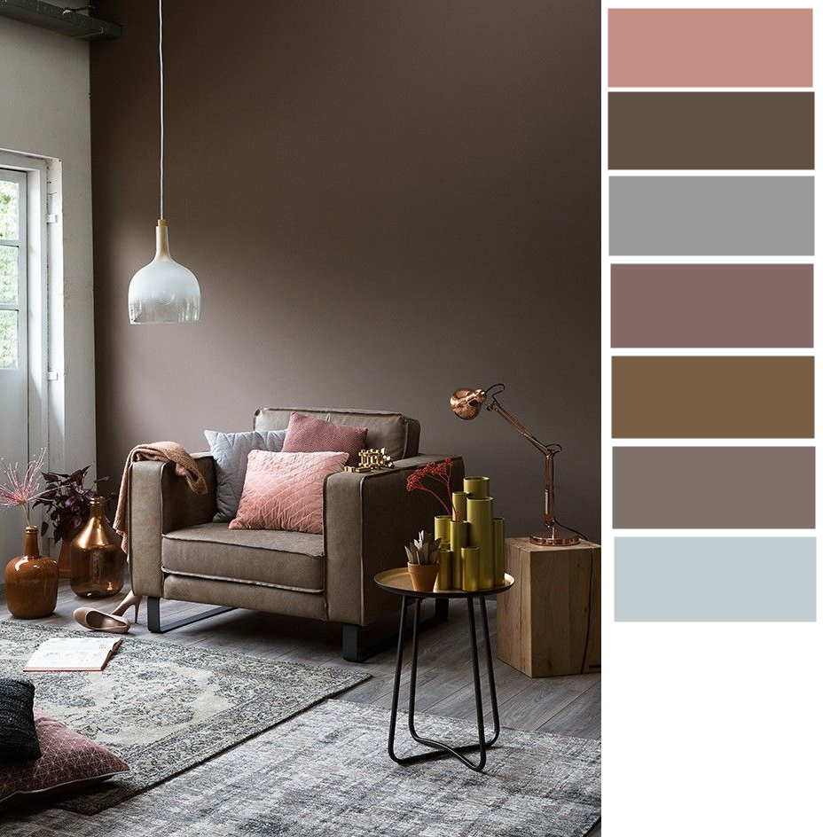 As You Might Explore The Right Combination Yourself Below We Paint Down Some Color Palette Ideas Of Dark Colored Room For